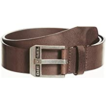 Diesel Homme Bluestar Leather Belt, Noir 56510c795b8