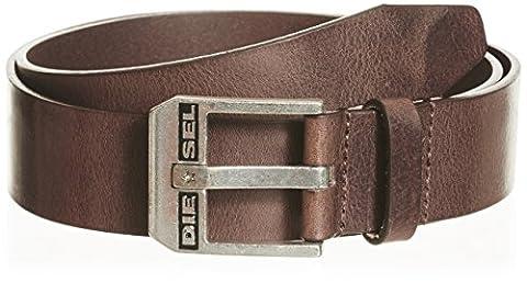 Dark Brown Bluestar cuir ceinture - Médium de Diesel