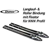 Skibinding & Roller Ski Binding with Fixator for NNN Profile