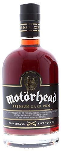 Motorhead Premium Dark Rum, 0.7 l