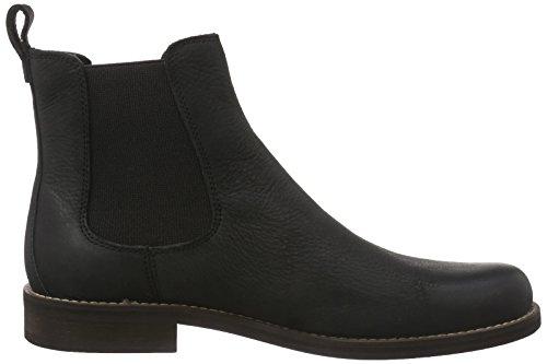 De Italia En Línea Últimas Colecciones En Línea Barato WolverineGarrick Black Leather - Stivali Chelsea Uomo Nero hIWUl7wzyl