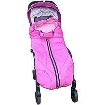 zuoao 2en 1Cochecito Saco, saco de dormir Baby Travel–Saco universal Fit para bebé carrito/cochecito/cochecito de bebé asiento de coche, recién nacido hasta 36meses