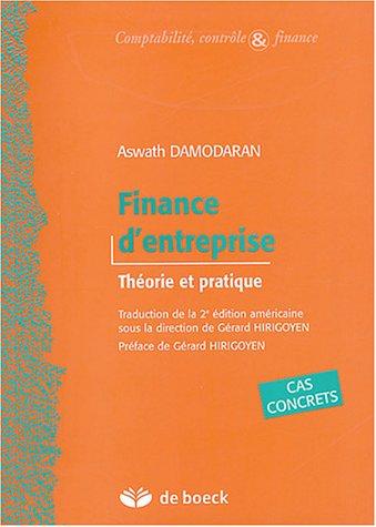Finance d'entreprise : Théorie et pratique