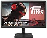 LG 22MK400H-B - Monitor Gaming FHD de 54,6 cm (21,5') con Panel TN (1920 x 1080 píxeles, 16:9, 1 ms, 75Hz, 200 cd/m², 600:1, NTSC >72%) Color Negro Mate
