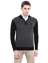 Arrow Sports Mens Turtleneck Sweater (8907036900279_AKOS8054_M_Grey lange)