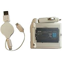 OSTENT Cavo di alimentazione per caricabatterie da auto 2 in 1 Cavo per Nintendo NDSi / 3DS / 3DSLL / 3DSXL
