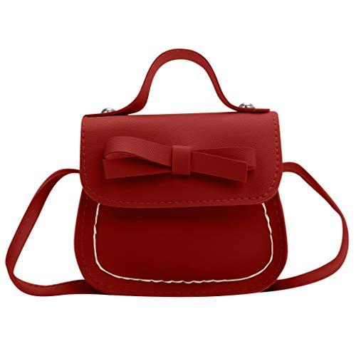 indertasche Bogen Umhängetasche Kinder Messenger Bag Geldbörse (rot) ()