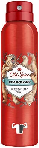 Old Spice Bearglove Deodorant Body Spray For Men, 150 ml