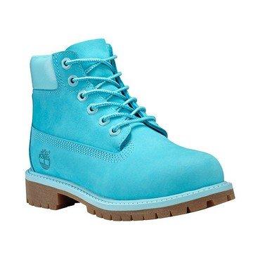 Timberland 6 In Premium Wp Boot Scuba Blue (Kids) SCUBA BLUE