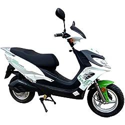 Ciclomotor Moto eléctrica Egarbike E-500 Lifepo4 48V 1500-2000W bateria extraible