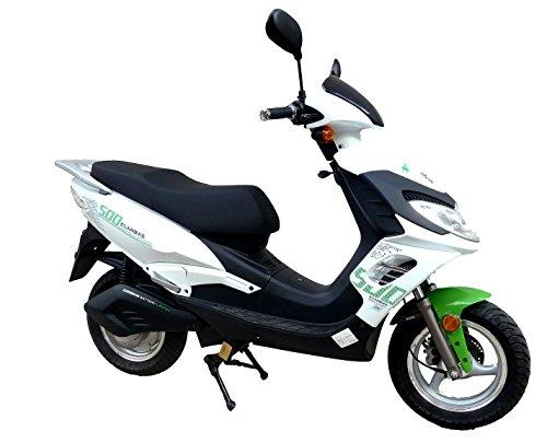Ciclomotor Moto eléctrica Egarbike E-500 Lifepo4 48V 1500-2000W bateria...