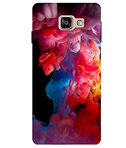 Citydreamz Colorful Splash\Holi Hard Polycarbonate Designer Back Case Cover For Samsung Galaxy A7 2016 Edition