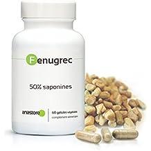FIENO GRECO *La più Alta titolazione in SAPONINE del mercato * 500 mg/60 capsule vegetali * Potenzia il testosterone * titolato al 50% in saponine * 100% Soddisfatti o Rimborsati