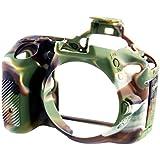 Bilora-Coque de protection en silicone pour Nikon D5500-Camouflage