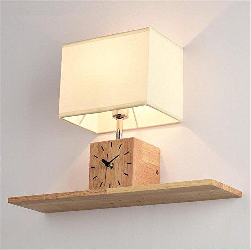 Mit tisch Lampenschirm stunden Vitrinen & kreative Substanz in Holz für die moderne Zimmer Classic Zimmer Lounge von Ventilen schmücken - Traditionelle Holz-vitrine