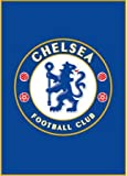 Chelsea Football Club FC Fußmatte für Schlafzimmer, Polyamid, blau, 50 x 80 cm
