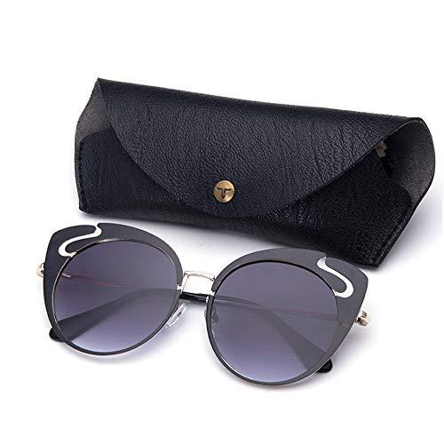 ETH Neue Sonnenbrillen, Europäische Und Amerikanische Retro-Sonnenbrillen, Street Shooting, Wilde Sonnenbrillen dauerhaft (Farbe : Yellow)