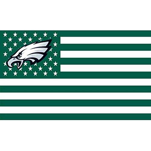 NFL Philadelphia Eagles Stars and Stripes Flagge Banner-3x 5ft (Gear Eagles Nfl)