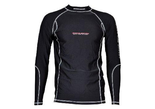 Sherwood Erwachsene Unterwäsche Funktions 3m Shirt Senior, Schwarz, M, 8434 (Eishockey Unterwäsche)