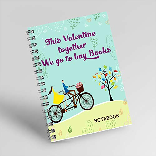 This Valentine together we go to buy Books in Valentine-Notebook. (English Edition)