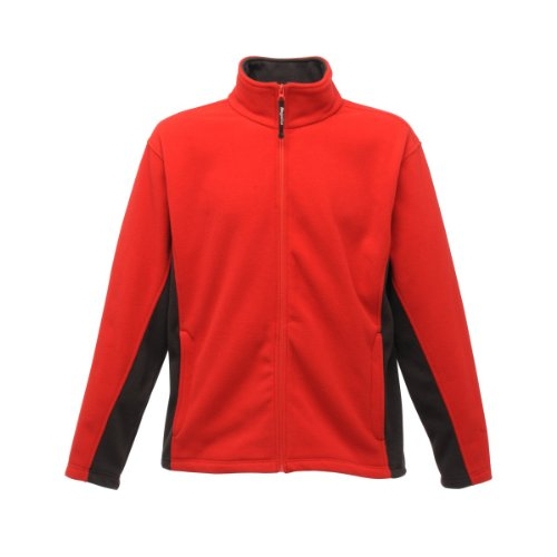 Regatta Energise II Fleece Jacket Classic Red/Ash