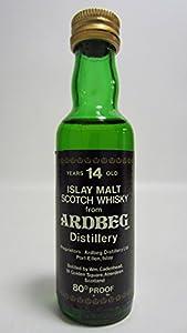 Ardbeg - Cadenheads Black Label Miniature - 14 year old Whisky by Ardbeg
