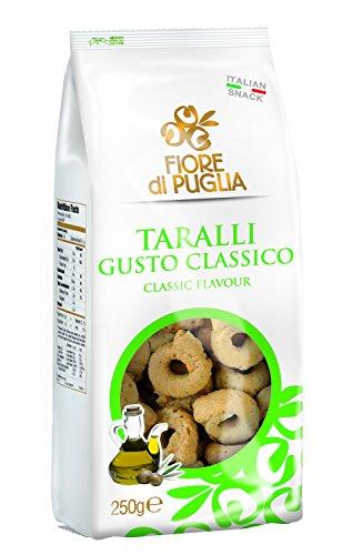 Confezione taralli classici con olio extra vergine di oliva (7 pezzi da 250 gr) Fiore di Puglia