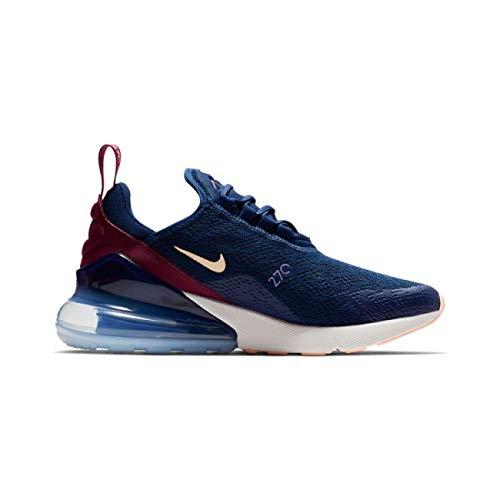 Nike Damen W Air Max 270 Leichtathletikschuhe, Mehrfarbig (Blue Void/Crimson Tint/True Berry 402), 36.5 EU -