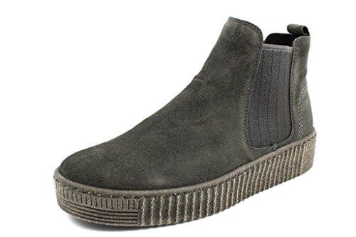 Gabor - Damen Stiefeletten - Anthrazit Schuhe in Übergrößen, Größe:42