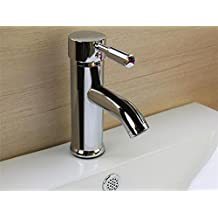 SLT Lavabo de lavado Lavabo de lavado Lavabo de agua del grifo del calentador Lavabo de cobre completo del contador del cuarto de baño Lavabo de una sola ...