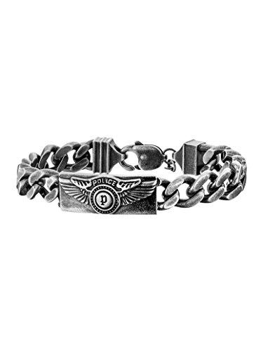 Police Herren-Charm-Armband Edelstahl PJ25725BSE.01-L