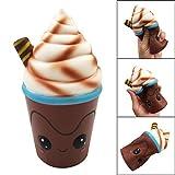 TAOtTAO Dummes Squishy Schokoladen-Eiscreme-Charme-langsames Steigendes Pressungs-Druck-Helfer-Spielzeug