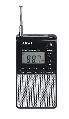 Akai APR25 Radio portable Noir, Argent (Import Allemagne) par Akai