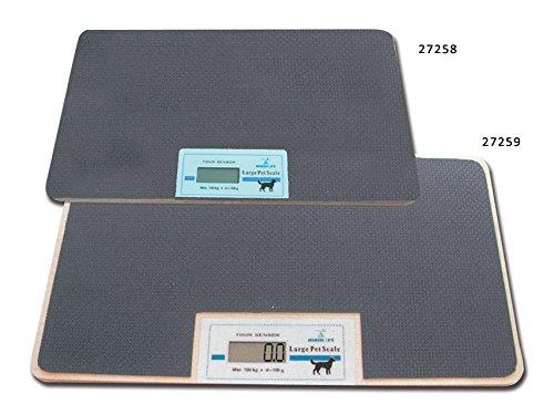 Exactos completo multifuncionales balanzas electrónicas, diseñados para medir el peso de su mascota disponible en dos tamaños. Producto de calidad con precio muy competitivo. Mínimo de medición de peso: 2 kg. Hecho en Europa. capacidad, sensibilidad:...