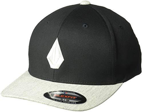 Volcom Herren Full Stone Heather Flexfit Stretch Twill Hat Baseball Cap, Storm, S/M Full-stone-stretch-hut