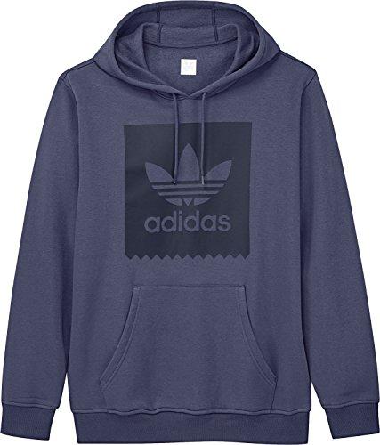Adidas Solid Bb Hood, Herren Sweatshirt Dunkelblau