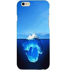 Casotec Glacier Design Hard Back Case Cover for Apple iPhone 6 / 6S