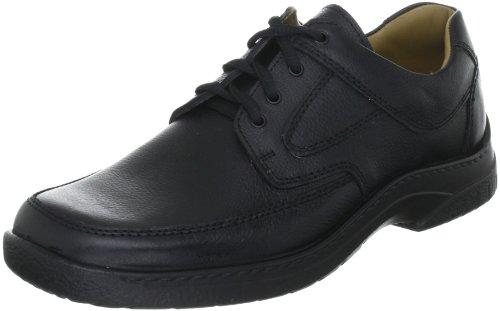 Jomos Feetback Herren Derby Schnürhalbschuhe, Schwarz (Schwarz), 49 (Größe 15 Schuhe Für Männer)