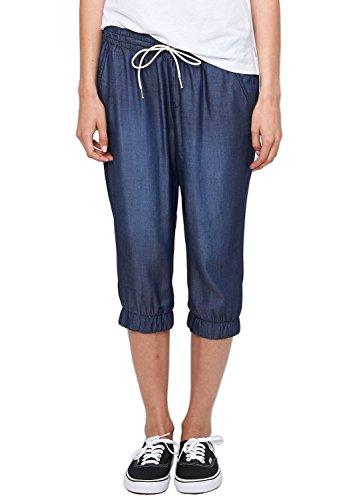 s.Oliver Denim Capri 41.506.72.6902 - Jeans - Capri - Femme Bleu (Blue Denim,Heavy Stone Wa 57Z6)