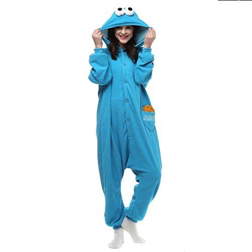 Albrose Damen Blouson Jumpsuit Black Umbreon Gr. M, Blue Muppets