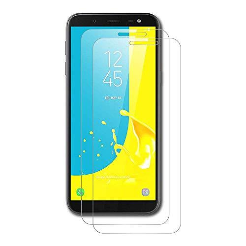 OuTera Displayschutzfolie für Samsung Galaxy A7 2018, [9H Härte 3D] [Komplettes Abdeckung] [Installationsset] [Gehärtetes Glas - [6.0] [3 Stück ]