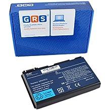 GRS bateria para ACER Extensa 5210, 5220, 5230, 5235, 5420, 5610, 5620, 5630, 5635, 5720, 7620, 7520, 7720, Acer TravelMate 5520, 5530, 5710, 5730, compatible con TM00741, TM00751, GRAPE32 , GRAPE34, LC.BTP00.005, CONIS71, LC.BTP00.006, BT.00603.024 , BT.00604.011 , T.00604.015 , LIP6219VPC , LIP6219VPC SY6 , LIP6232CPC, para portátil con 4400mAh/49Wh 11,1V