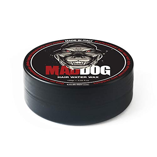 Cera per Capelli Professionale Mad Dog 100ml. 100% Made in Italy