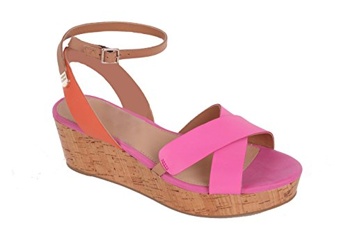 Tommy Hilfiger Damen Slingbacks Pumps Elmy 12A Pink / Orange (38)