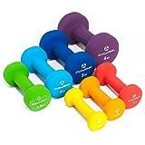 Neopren-Hanteln »Peso« Kurzhanteln in verschiedenen Gewichts- und Farbvarianten / 1.5kg, grün -