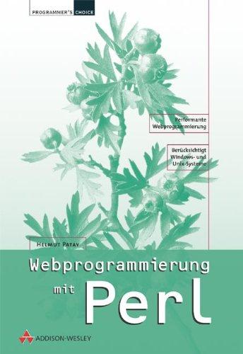 Web-Programmierung mit Perl (Programmer's Choice)