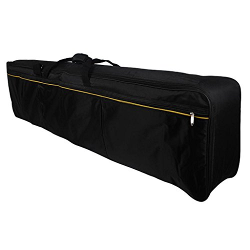 MagiDeal 88 key Electronic Keyboards Case/ Electric Keyboard Piano Organ Gig Bag Accessory