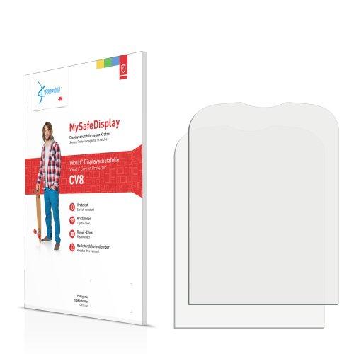Vikuiti 2x Displayschutzfolie CV8 von 3M für Alcatel One Touch OT-306 Schutzfolie Folie