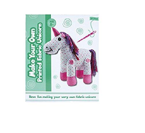Toyland® Haz tu propio unicornio de tela estampada - actividades de manualidades