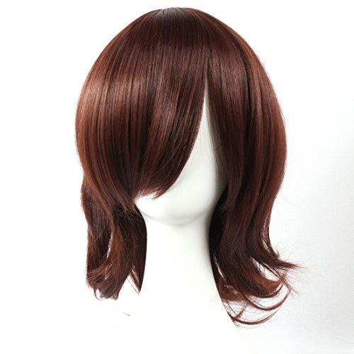 mittelglatt Vampir Ritter Kuran Vocaloid Yuki Meiko für Halloween Party Cosplay Perücken ()